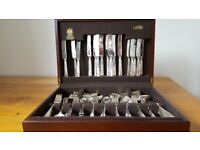 102 Piece Arthur Price Siver Plate Cutlery in Canteen