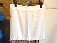 M&S Linen Skirt - Size 16