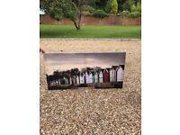 Canvas bespoke beach hut photo