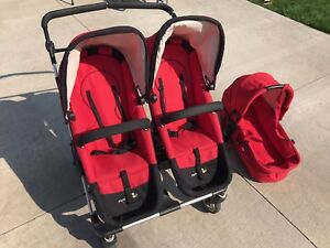 Firstwheels City Twin Stroller for sale