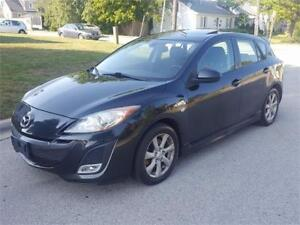 2010 MAZDA3 GT GRAND TOURING / SPORT PACKAGE/SPOILER/6SPEED