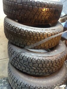 4 Studded Winter Tires, $400