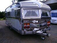 classic Vickers 1966 caravan