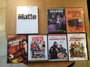 FOR SALE DVD Movies 5$each Or 6 for 20$