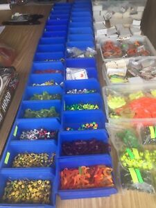 Large lot new fishing items all new