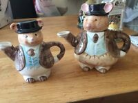 Teapot Mice X2