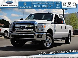 2015 Ford F-250 XLT**4X4*DIESEL*6 PLACES*CAMERA*CRUISE*A/C**