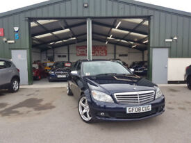 2008 Mercedes-Benz C200 2.1TD MANUAL DIESEL NEW SERVICE FINANCE AVAILABLE