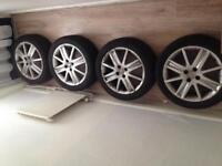 "Renault 17"" alloy wheels 4 x 100 £80"