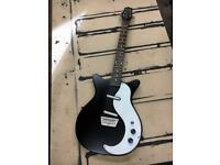 Danelectro DC59 stain black reissue electric giutar