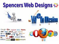 Affordable Websites and Web Hosting Plans - Contact us now - Spencer's Web Designs