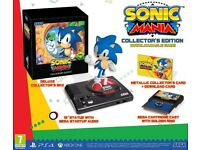 sonic mania ps4 collectors edition - brand new in box