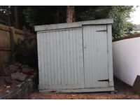 FREE! Large wooden garden shed.