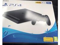 BRAND NEW SEALED PS4 & EXTRA BLUE CONTROLLER PLAYSTATION 4