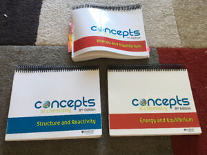 Concepts in Chemistry Workbooks