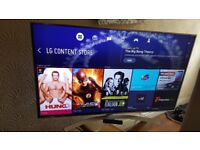 LG 55-inch SUPER Smart 4K UHD HDR PRO LED TV-55UH770V,built in Wifi,Freeview,GREAT Condition