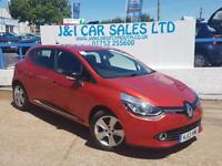 RENAULT CLIO 1.1 DYNAMIQUE MEDIANAV 5d 75 BHP A LOW PRICED FAMI (red) 2013