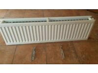 TYPE 22 DOUBLE PANEL DOUBLE CONVECTOR RADIATOR 500MM HEIGHT 1450MM GOOD CONDITION