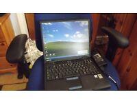 PENTIUM 4 COMPAQ EVO NC10C LAPTOP ,WINDOWS XP ONLY £40
