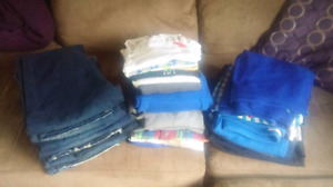 Lot of boys brand name clothes size xl like new