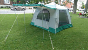 Classic Eureka Great Western nylon family tent