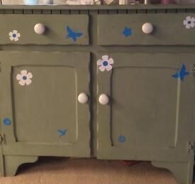 Cupboard with two drawers