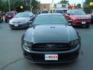 2013 FORD MUSTANG V6- LEATHER HEATED SEATS, ALLOY WHEELS, SYNC,