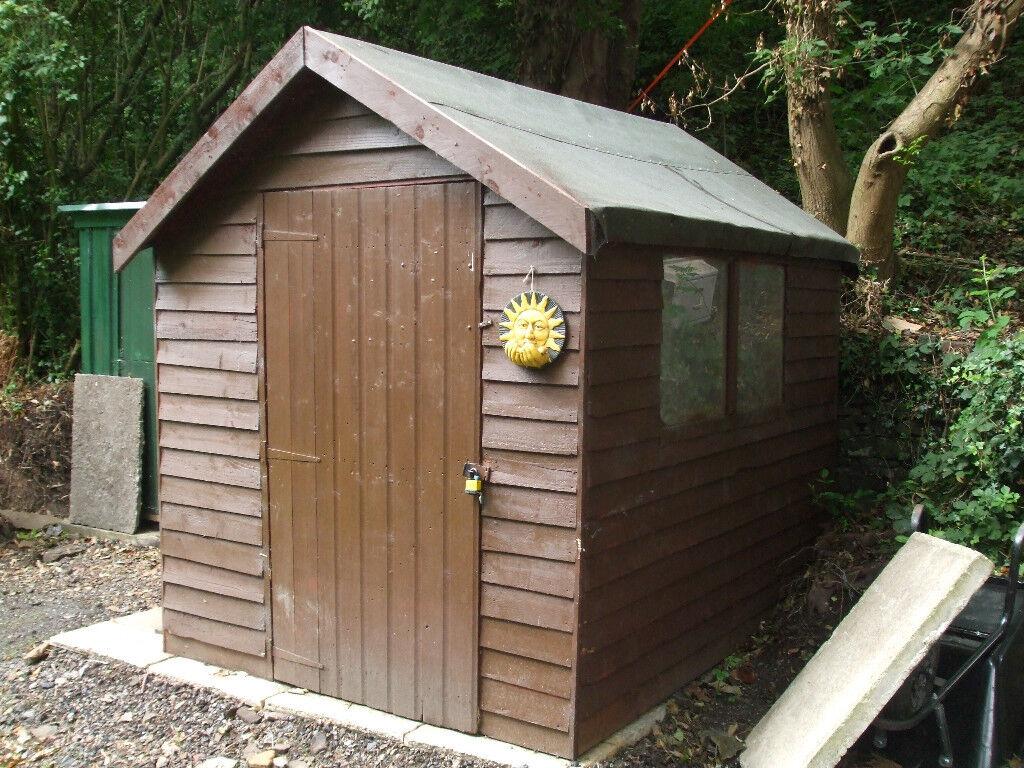 wooden 8x 6 shed - Garden Sheds Huddersfield