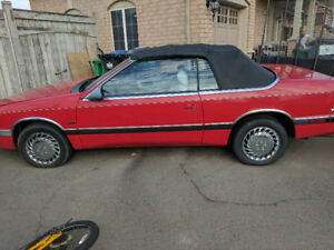1993 Chrysler lebaron leather