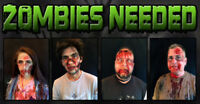 Zombies Needed Oct 20th-22nd & Oct 27th-29th