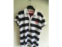 Woman' s striped top - new