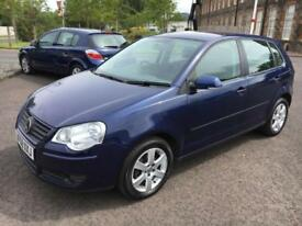 5808 Volkswagen Polo 1.2 60PS Match Blue 5 Door 69083mls MOT May 2018