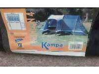 4 to 6 people tent and electric