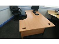 Large L-shape office desk