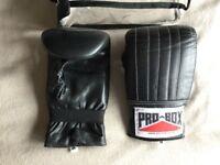 Pro Box bag boxing gloves - size medium