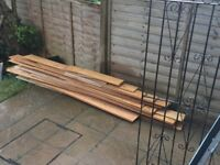 Free to collect. Approx 6m2 of oak flooring