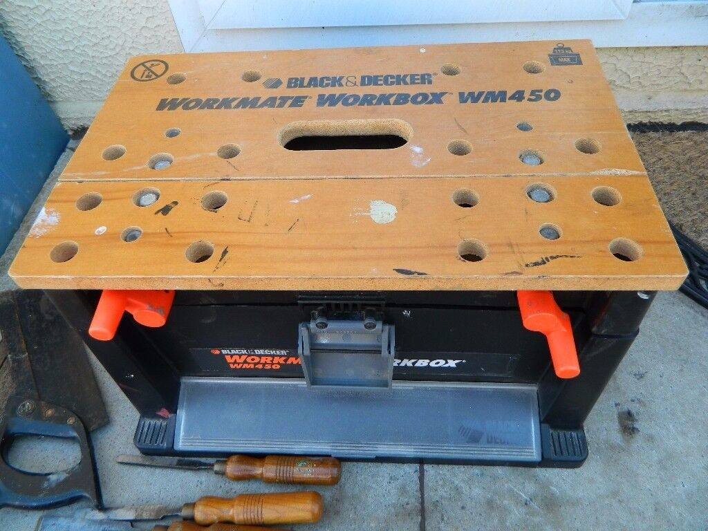 Black & Decker Workmate Workbox WM450.
