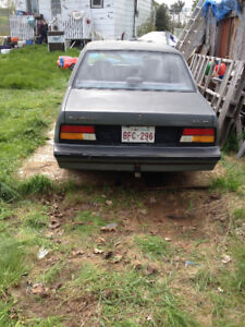 87 cavalier for parts or restore