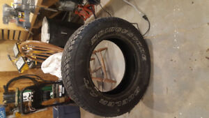 4 x 18 inch Bridgestone Dueler AT tires