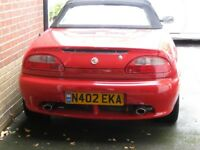 Red mgf spares or repair