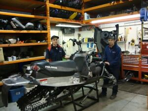 Snowmobile Parts and Service at Tak