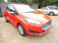 FORD FIESTA 1.2 STYLE 5d 59 BHP (red) 2014