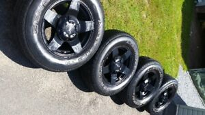 """RTX Off Road """"Thunder"""" Wheels With Tires"""