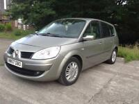 7 SEATER TOWBAR, SWAP OFFERS, RENAULT MEGANE SCENIC 2007 2keys 3owner