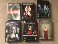 Battlestar Galactica complete series + mini series