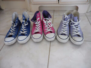 High-Top Converse Sneakers Size 8
