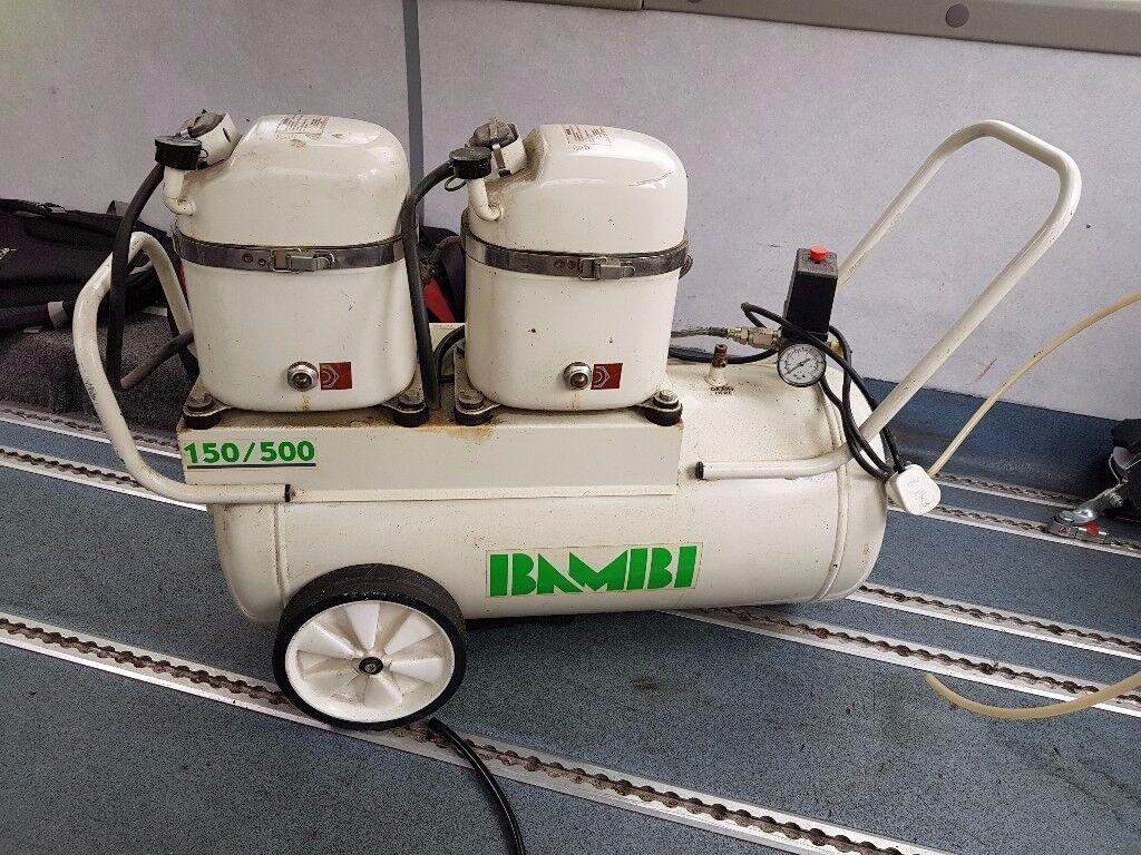 Bambi 150 500 kompressor used