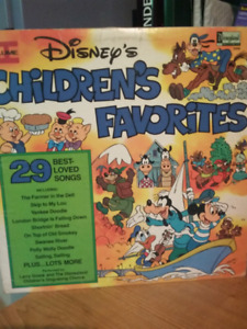 Vinyl Children favorites de Disney vol 2