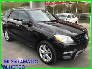 2015 Mercedes ML350 4MATIC BLUETEC