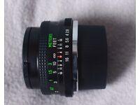 Vivatar 28mm lens for Olympus Cameras